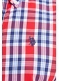 U.S.Polo Assn. Kareli Gömlek Kırmızı